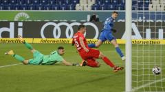 Хофенхайм пречупи Аугсбург с два бързи гола след почивката