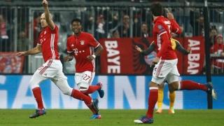 Нов рекорд на Байерн в Шампионската лига