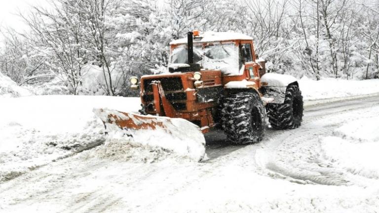 Тетевен глоби фирма заради лошото снегопочистване