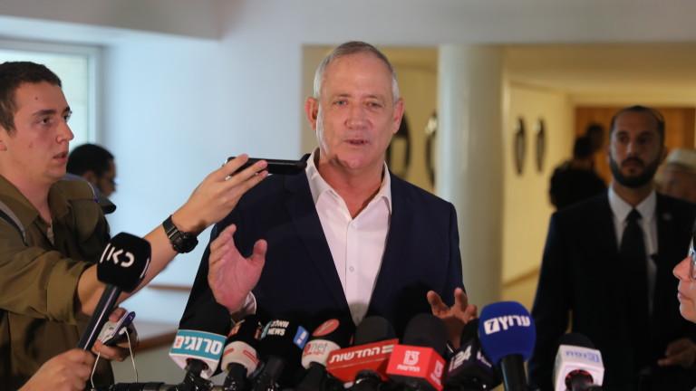 Бени Ганц получи мандат за съставяне на израелско правителство
