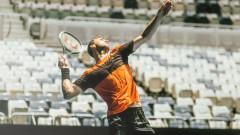 Гришо: Не приемам тениса за даденост
