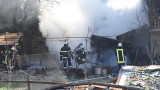 Изгоря архивът на психодиспансера в София