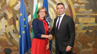 Сътрудничеството обсъдиха първите дипломати на България и Македония