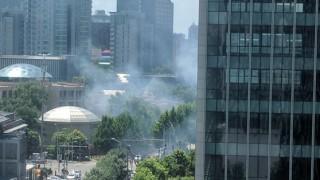 Взрив пред посолството на САЩ в Пекин