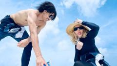 Мадона и младото ѝ гадже на Малдивите