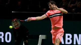 Гришо на 1/4-финал след тежък мач с Краинович