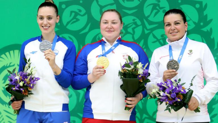 Антоанета Бонева спечели бронзов медал на европейските игри в Минск