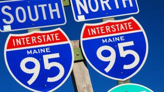 Верижна катастрофа с 30 автомобила в американския щат Мейн