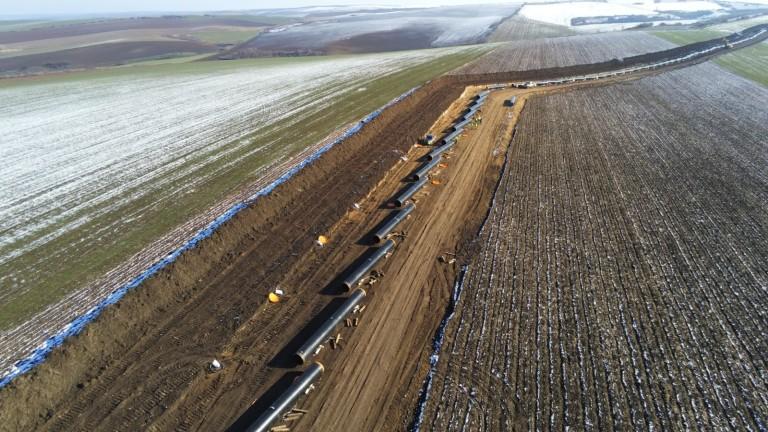 Протестират 20 от българските работници, които изграждат газопровода Комотини-Стара Загора