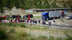 Образувано е дело за блокадата на пътя Стара Загора – Хасково