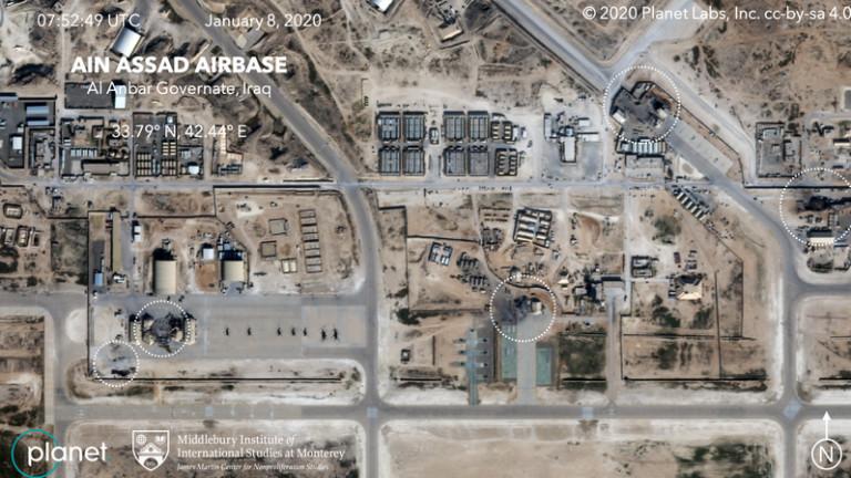 Военните на САЩ в Ирак са знаели за ударите на Иран няколко часа преди атаката