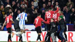 Манчестър Юнайтед победи Хъдърсфийлд с 2:0 и е на 1/4-финал за ФА Къп