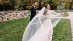 Първи снимки от сватбата на Дженифър Гейтс