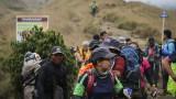 Евакуираха над 500 туристи от връх Ринджани след земетресението в Индонезия