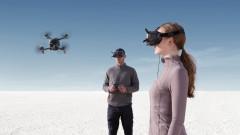 Новият DJI FPV дрон - поглед от облаците и до 140 км/ч
