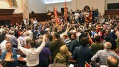 Опозицията в Македония заплаши президента Иванов с импийчмънт