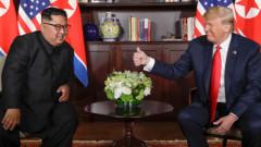 Тръмп и Ким обядват съчетание от западни и азиатски вкусове
