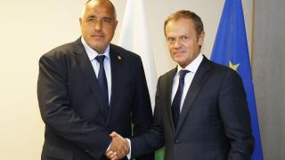 Продължавайте все така, хвали Туск дипломацията на Борисов