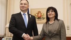 Шенген, сътрудничеството и туризма обсъдиха Дуда и Караянчева