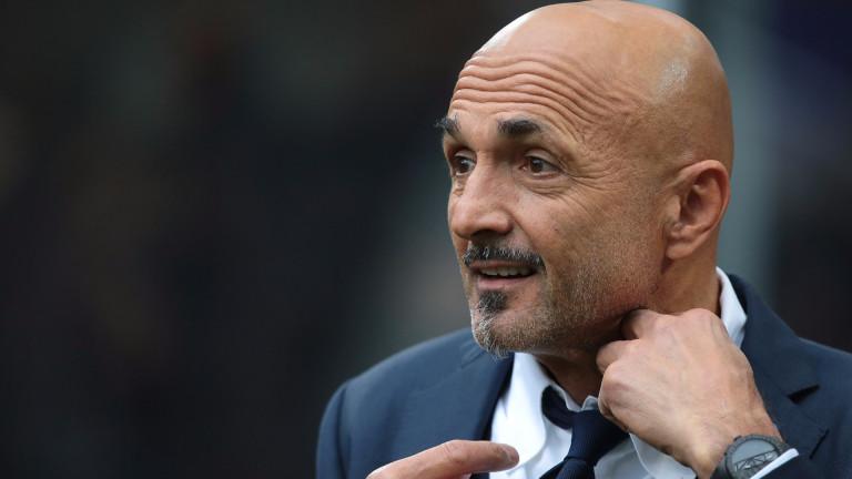 Лучано Спалети: Ако някой футболист не е достатъчно добър, няма да играе в Интер