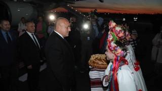 Борисов пристигна на посещение в Украйна