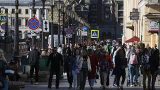 Коронавирус: Русия все още с голям брой новозаразени и починали за 24 часа