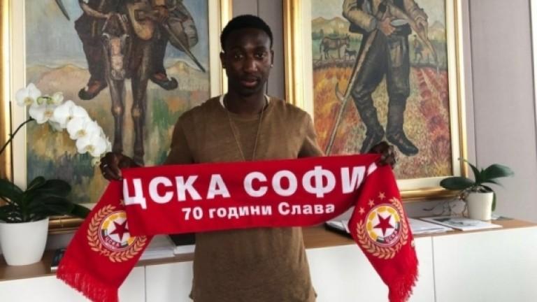 ЦСКА представи трети нов футболист, тренирал го е Марко ван Бастен
