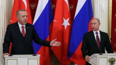 Путин и Ердоган обсъдиха Сирия и енергийните проекти
