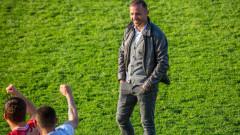 Шефът на Янтра със специални благодарности към отбора