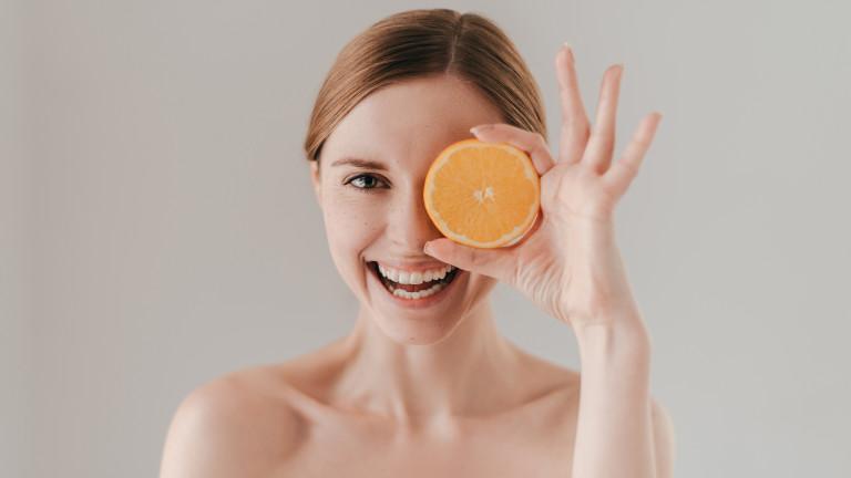 И кожата ни се нуждае от витамин С