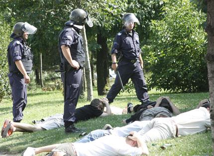 Гей парадът започна с арести
