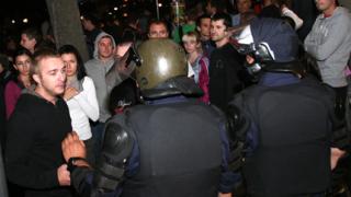 Десетки арестувани след протестите в страната
