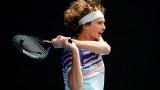 Безпогрешен Саша Зверев стигна до полуфиналите на Australian Open