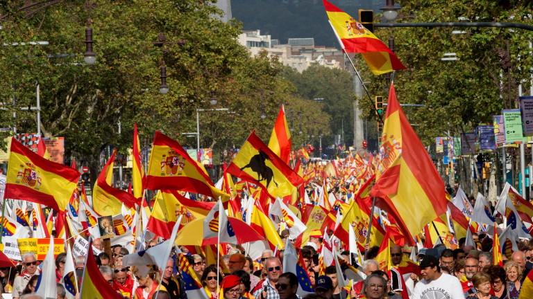 За първи път от юни 2017 г. повечето каталунци са против независимост