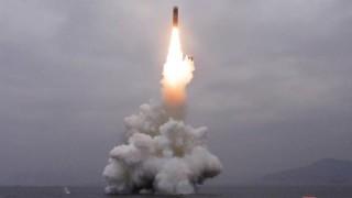 Северна Корея изстреля неидентифициран снаряд