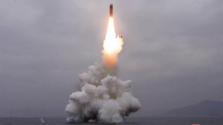Северна Корея изстреля неидентифициран снаряд. Това съобщи