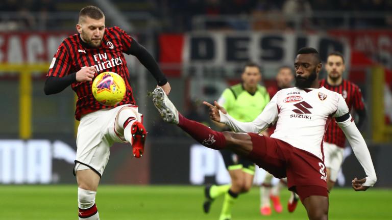 Милан победи Торино с 4:2 в четвърфинален мач за