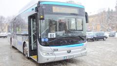 Нов електробус тръгна по софийските улици