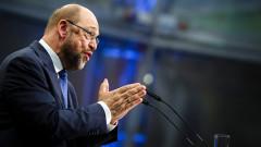Мартин Шулц популярен колкото Меркел, има шанс за канцлер