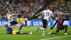 Германия - Швеция 2:1, гол на Кроос в добавеното време!