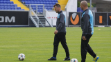 Букарев и Топчо ще водят утрешната тренировка на Левски