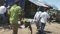 Десетима убити при взрив на кола бомба на оживен пазар в Сомалия