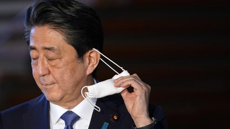 Премиерът на Япония Шиндзо Абе обяви извънредно положение за борба