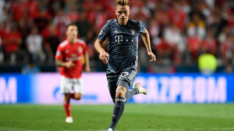 Защитникът на Байерн (Мюнхен) Йошуа Кимих обяви, че решението на