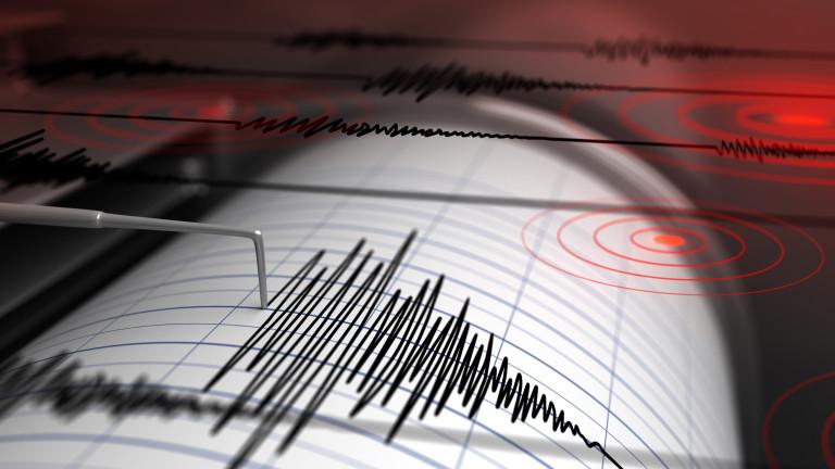 Земетресение е регистрирано в Тихия океан