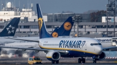"""""""Райънеър"""" отменя над 20 полета от и за България до края на октомври"""