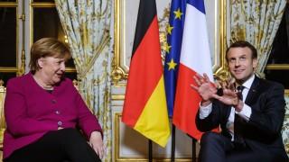 Меркел и Макрон обсъдиха двустранното сътрудничество