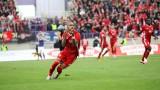 Етър - ЦСКА 2:2 (Развой на срещата по минути)