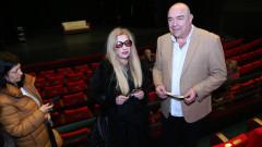 В Сатирата поставиха почетен знак в памет на актрисата Стоянка Мутафова