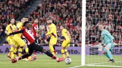Атлетик (Билбао) изхвърли Барселона от Купата на Краля след автогол на Бускетс